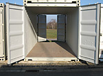 Lagercontainer ouble door