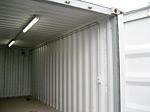 Lagercontainer mit Elektroausstattung - Containerzubehör